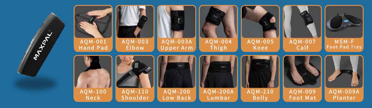 maxpal bluetooth massage Protector Brace body parts